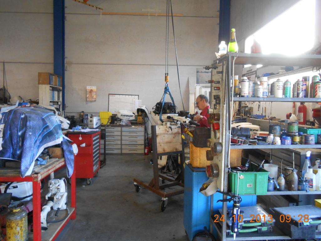 Buitenboordmotoren onderhoud